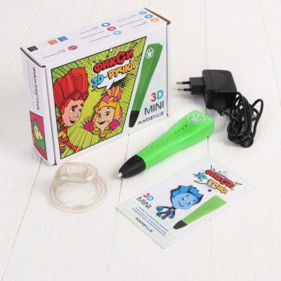 3D-ручка Funtastique  Фиксики  Mini, зелёная, артикул:10257278 - 3D ручки