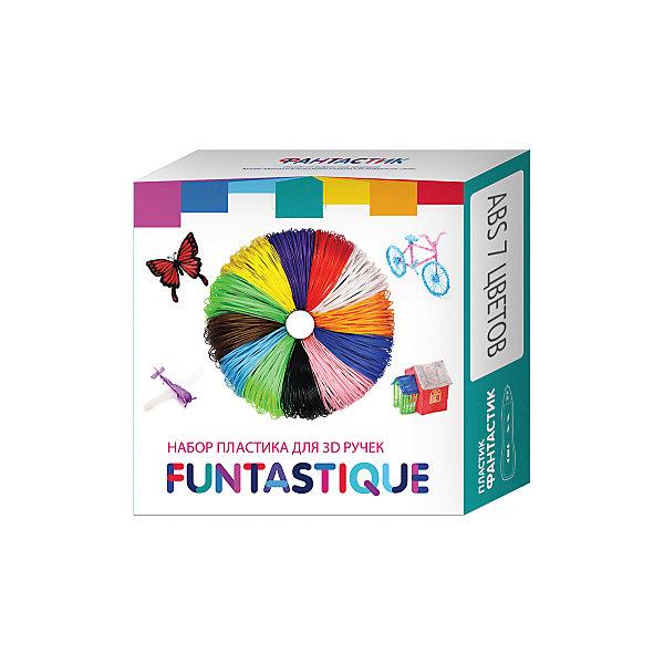 SEM Комплект ABS-пластика Funtastique для 3д ручек, 7 цветов комплект пла пластика для 3d ручек 7 цветов myriwell
