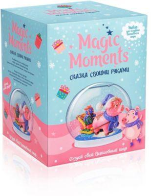 Набор для творчества Magic Moments  Создай Волшебный шар  Хрюша, артикул:10257595 - Товары для лепки