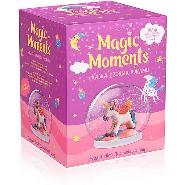 """Magic Moments Набор для творчества Magic Moments """"Создай Волшебный шар"""" Единорог"""