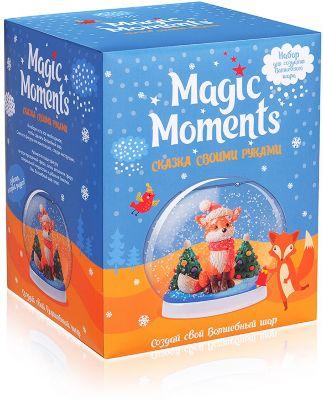 Набор для творчества Magic Moments  Создай Волшебный шар  Зимний лес, артикул:10257625 - Товары для лепки