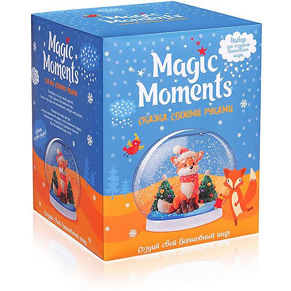Купить Набор для творчества Magic Moments Создай Волшебный шар Зимний лес, Россия, Унисекс
