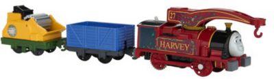 Паровозик Fisher Price  Track Master  Томас и его друзья, Харви, артикул:10259271 - Любимые герои