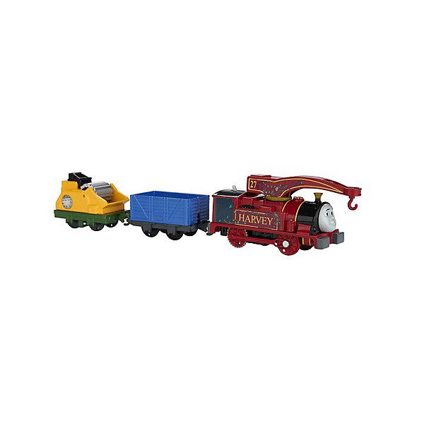 Купить Паровозик Fisher Price Track Master Томас и его друзья, Харви, Mattel, Китай, Мужской