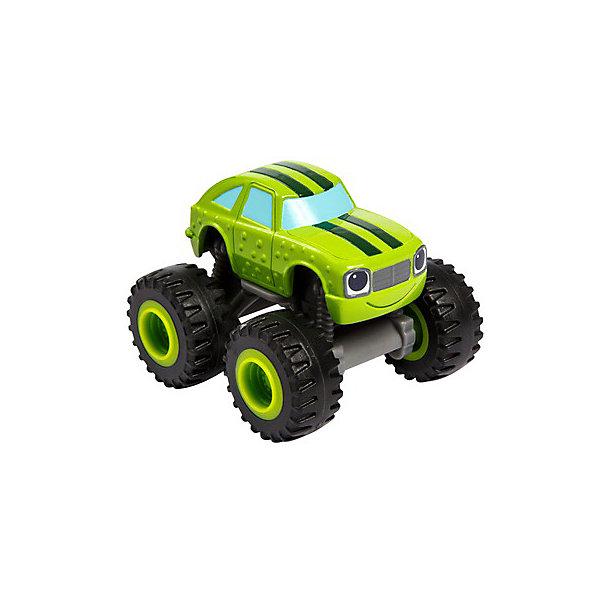 Mattel Машинка Fisher Price Вспыш и чудо-машинки, Огурчик mattel mattel детский автотрек вспыш и чудо машинки прыжок через пылающий вулкан