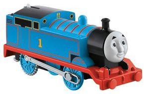 Моторизированный паровозик Fisher Price  Track Master  Томас и его друзья, Томас, артикул:10259299 - Любимые герои