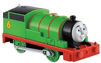 Моторизированный паровозик Fisher Price  Track Master  Томас и его друзья, Перси, артикул:10259300 - Любимые герои