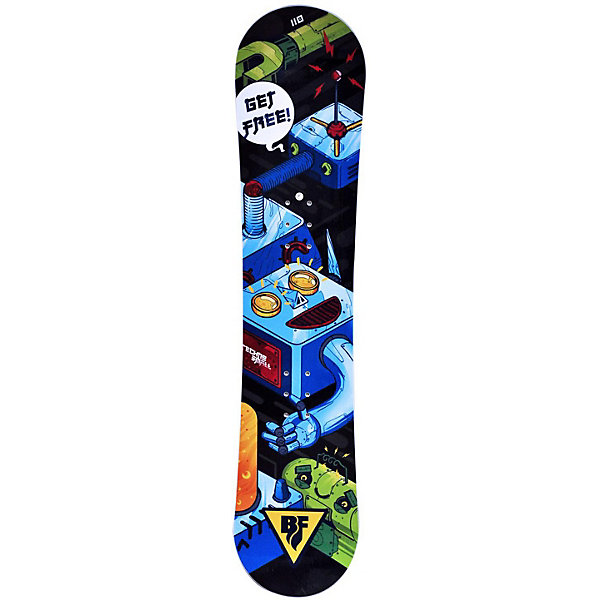 "BF snowboards Сноуборд BF snowboards ""Techno Smalls"", 90 см"
