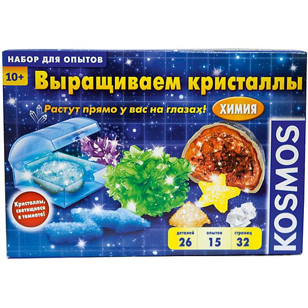 Kosmos Набор для опытов Kosmos Выращиваем кристаллы бумбарам набор для опытов тайны кристаллов