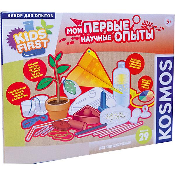 Kosmos Набор для опытов Kosmos Мои первые научные опыты ачети л бергамино дж мои первые эксперименты занимательные опыты с подручными материалами и пошаговыми инструкциями