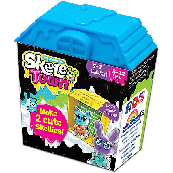 Colorific Игровой набор Скелетаун, голубой