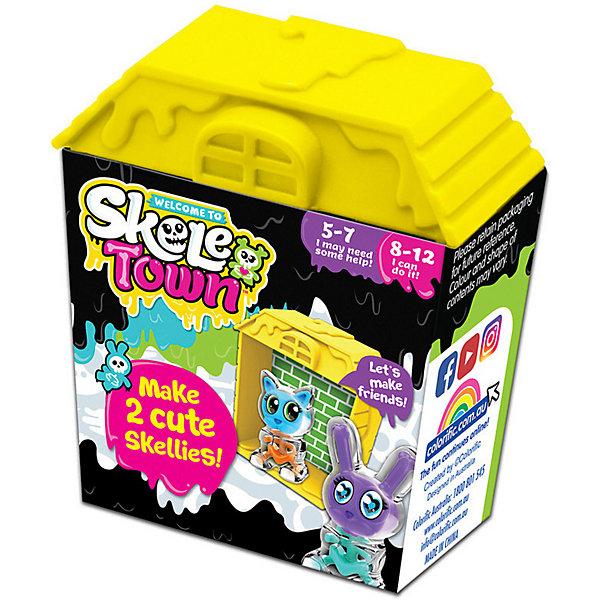 Colorific Игровой набор Скелетаун, жёлтый