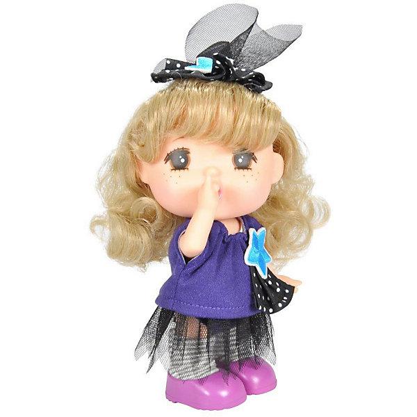 Lotus Onda Мини-кукла Mademoiselle GeGe в фиолетовой кофте, 15 см