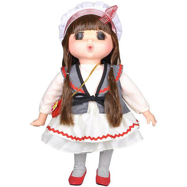 Lotus Onda Мини-кукла Mademoiselle GeGe в белом платье, 38 см