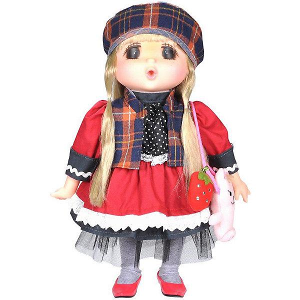 Lotus Onda Мини-кукла Mademoiselle GeGe в красном платье, 38 см