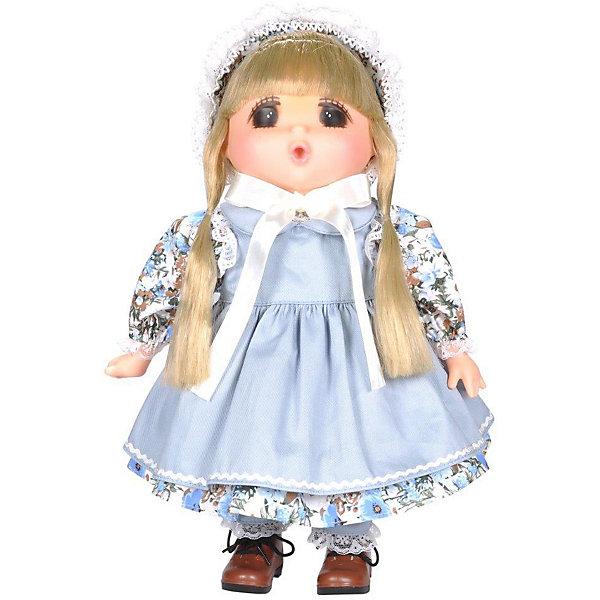 Lotus Onda Кукла Mademoiselle GeGe в голубом переднике, 38 см