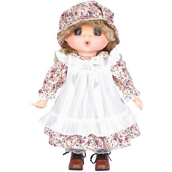 Lotus Onda Кукла Mademoiselle GeGe в белом переднике, 38 см