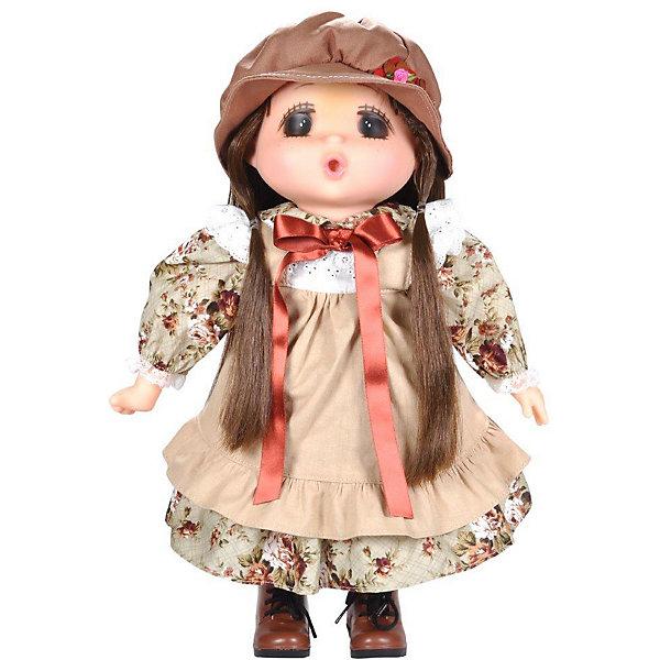 Lotus Onda Мини-кукла Mademoiselle GeGe в бежевом переднике, 38 см