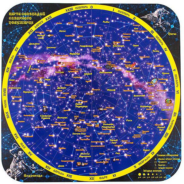 Геомагнит Магнитный пазл Карта созвездий северного полушария