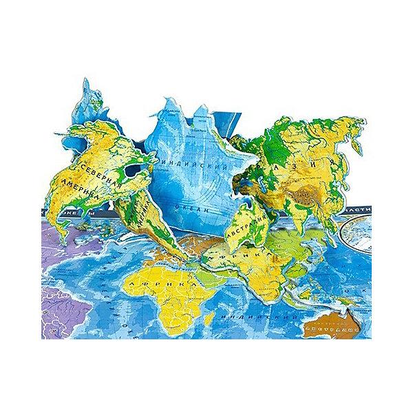 Купить Карта-пазл Геоцентр Мир , АГТ Геоцентр, Россия, Унисекс