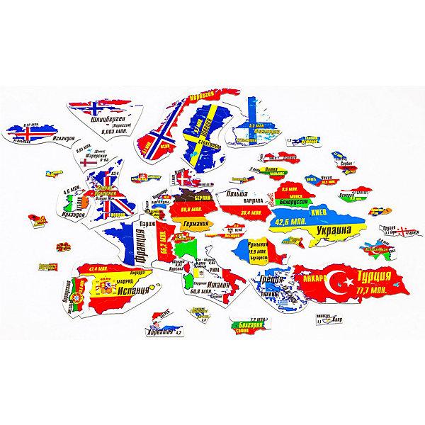 Геомагнит Магнитный пазл Европа