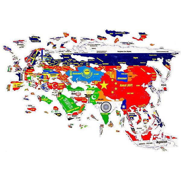 Геомагнит Магнитный пазл Азия