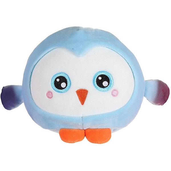 """1Toy Мягкая игрушка 1toy """"Squishimals"""" Голубой пингвин, 20 см"""