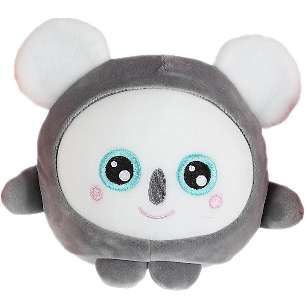 """1Toy Мягкая игрушка 1Toy """"Squishimals"""" Серая коала, 20 см"""