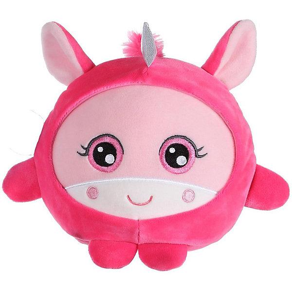 """1Toy Мягкая игрушка 1Toy """"Squishimals"""" Розовый единорог, 20 см"""