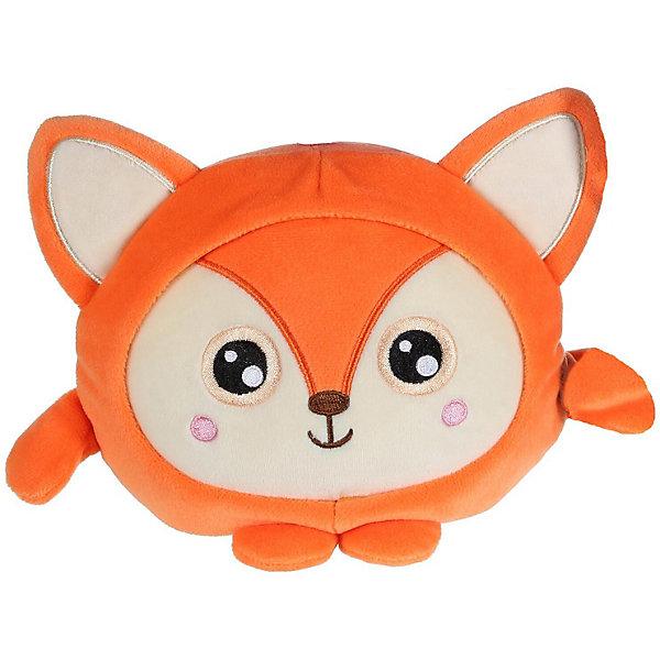 """1Toy Мягкая игрушка 1Toy """"Squishimals"""" Рыжая лиса, 20 см"""