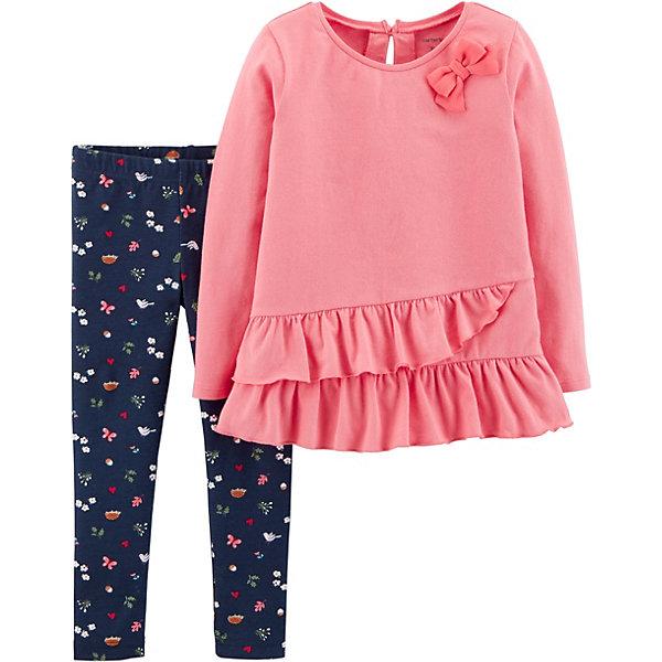 carter`s Комплект: Туника и брюки Carter's для девочки туника