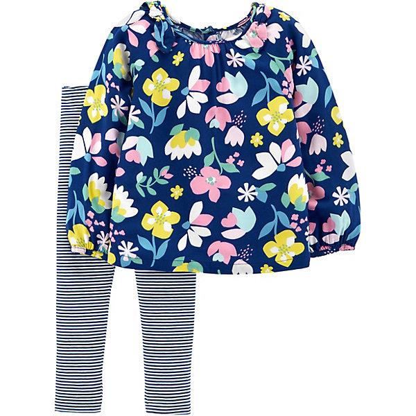 carter`s Комплект: Туника и брюки Carter's для девочки туника laurel туника