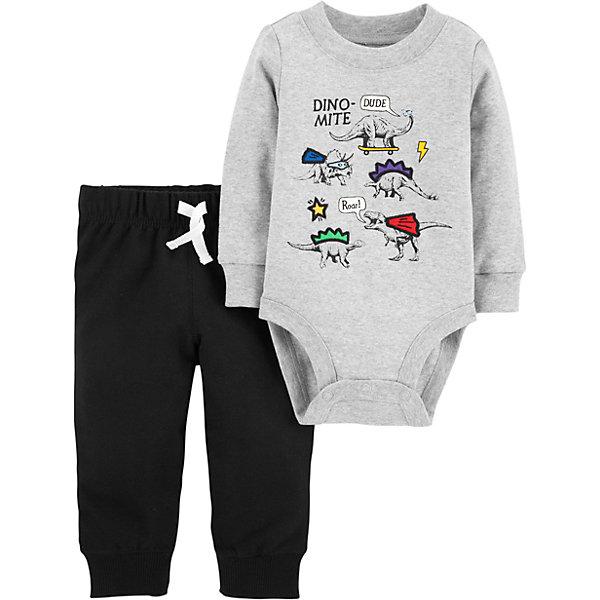 carter`s Комплект: Боди и брюки Carter's для мальчика цена и фото