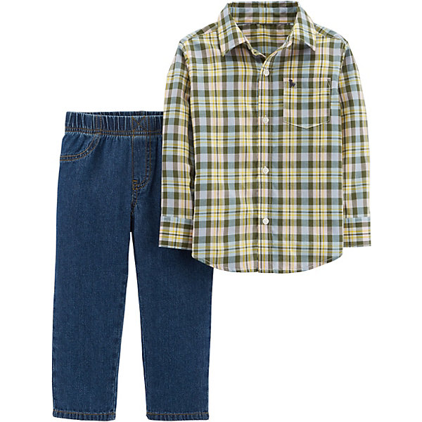 carter`s Комплект: Рубашка и брюки Carter's для мальчика
