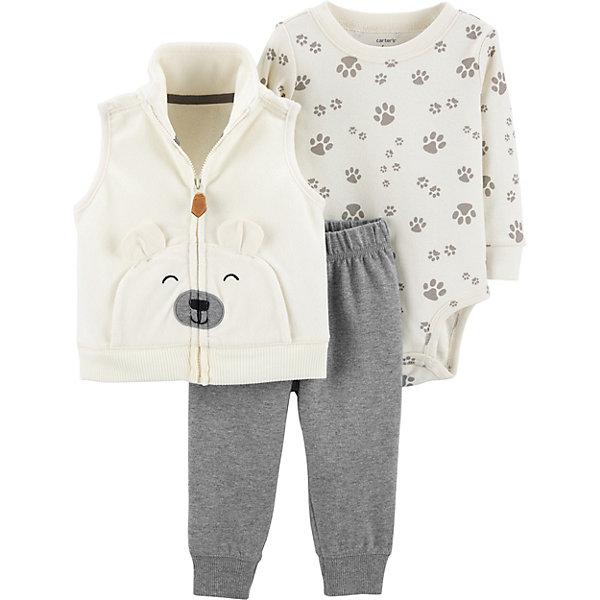 carter`s Комплект: Жилет, боди и брюки Carter's для мальчика