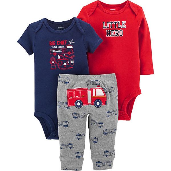 купить carter`s Комплект: Боди 2 шт. и брюки Carter's для мальчика по цене 1049 рублей