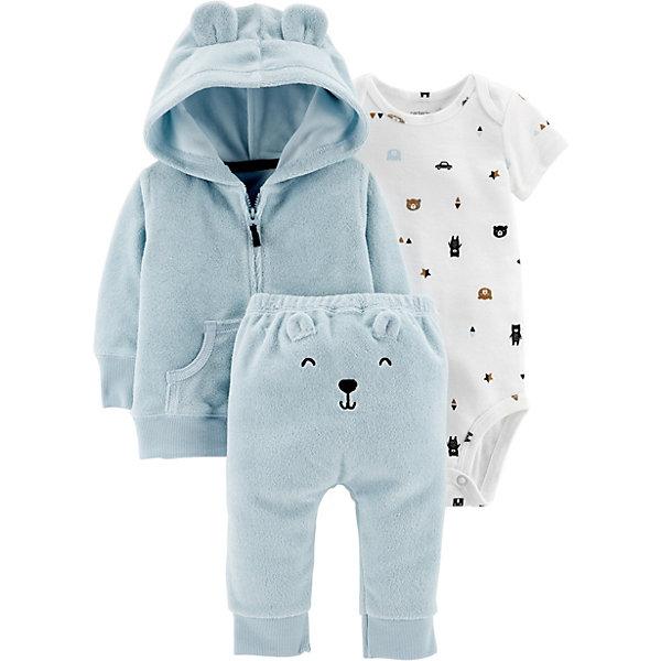 carter`s Комплект: Кардиган, боди и брюки Carter's для мальчика комплекты детской одежды lp collection комплект штанишки кофточка боди 14 2746