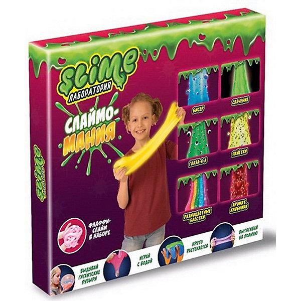 Волшебный мир Набор Slime 3 в 1 Волшебный мир Лаборатория, для девочек волшебный мир набор средний slime 3 в 1 лаборатория