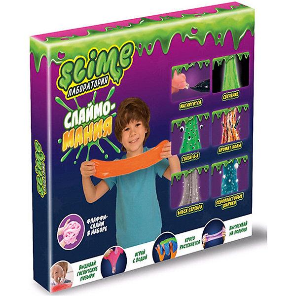 Волшебный мир Набор Slime 3 в 1 Волшебный мир Лаборатория, для мальчиков волшебный мир набор средний slime 3 в 1 лаборатория