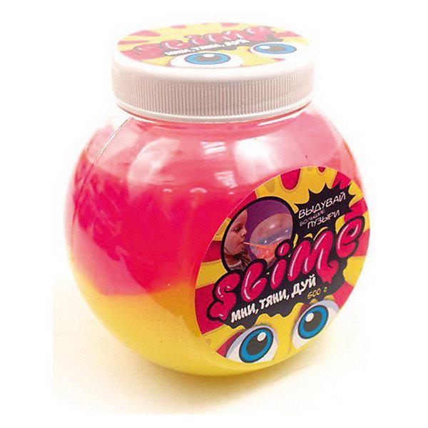Волшебный мир Лизун Slime Mega Mix, розовый и жёлтый