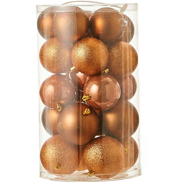 House of Seasons Набор ёлочных шаров House of Seasons 23 шт., коричневые цена 2017
