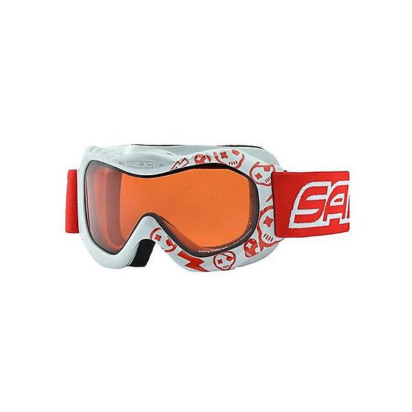 Salice Горнолыжные очки Salice 601DAD, бело-красные очки горнолыжные salice 602daf white orange