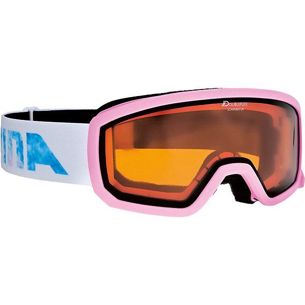 Alpina Горнолыжные очки Alpina Scarabeo JR. DH, розовые очки горнолыжные alpina challenge 2 0 dh цвет белый