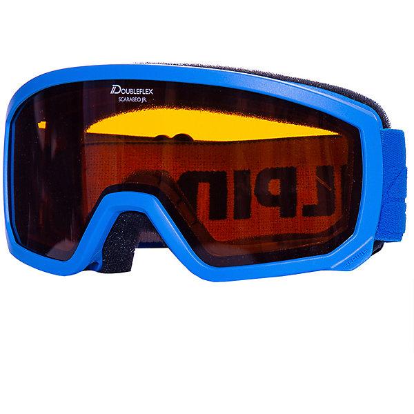 Alpina Горнолыжные очки Alpina Scarabeo JR. DH, голубые