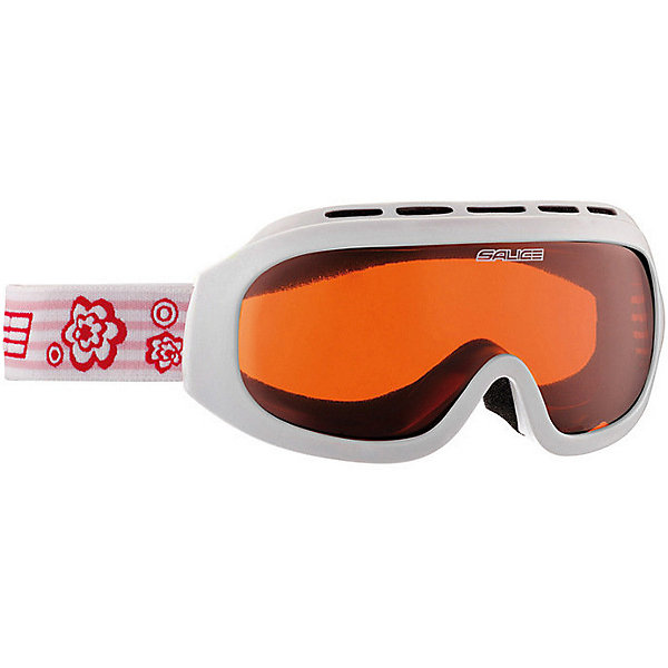 Salice Горнолыжные очки Salice 983AO, белые очки горнолыжные salice 602daf white orange