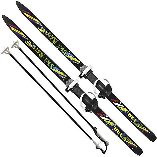 Цикл Лыжи подростковые Ski Race130/100 см, унив.крепление Цикл, с палками цикл палки лыжные с рисунком 105 см цикл