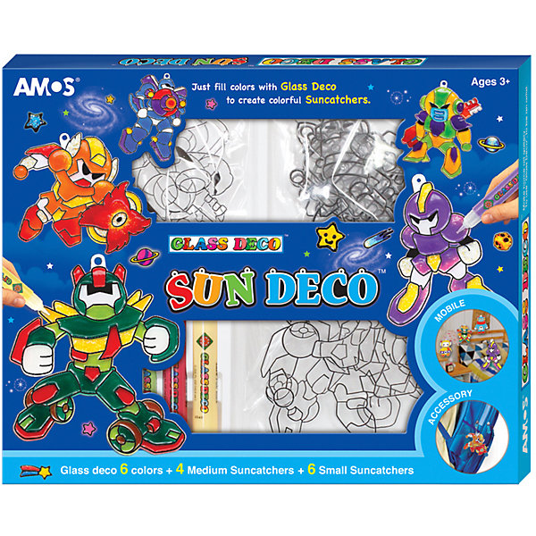 Amos Набор витражных красок с витражами