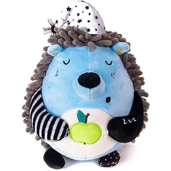 Gulliver Мягкая игрушка Gulliver Кофейная Ёжик Засоня, 15 см мягкие игрушки gulliver коровка муму 20 см