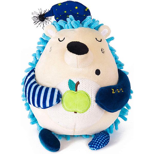 Gulliver Мягкая игрушка Gulliver Кофейная Ёжик Соня, 15 см мягкие игрушки gulliver коровка муму 20 см