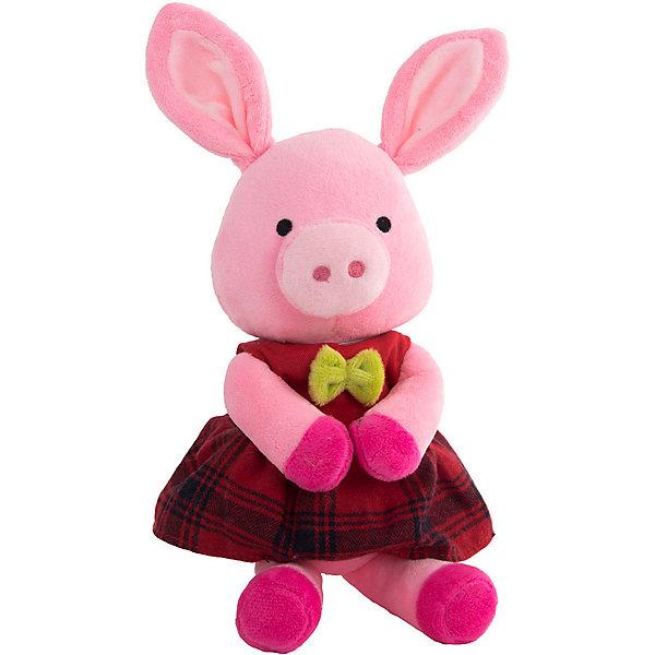 Купить Мягкая игрушка Gulliver Хрюша Липа, 20 см, Китай, розовый, Унисекс